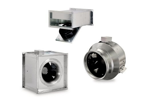 Inline duct fans - Commercial ventilation - Products - Fantech