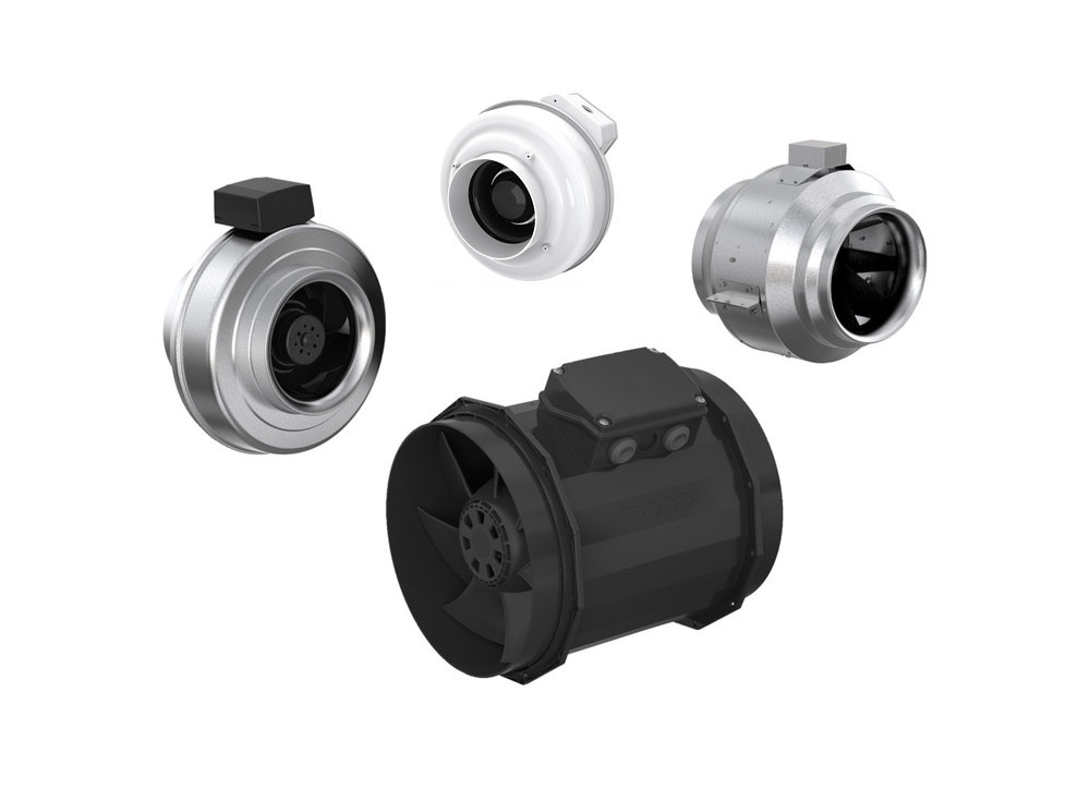 Circular duct fans - Inline duct fans - Fans & accessories - Products - Fantech