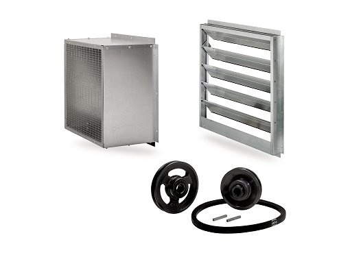 Accessories for wall ventilators