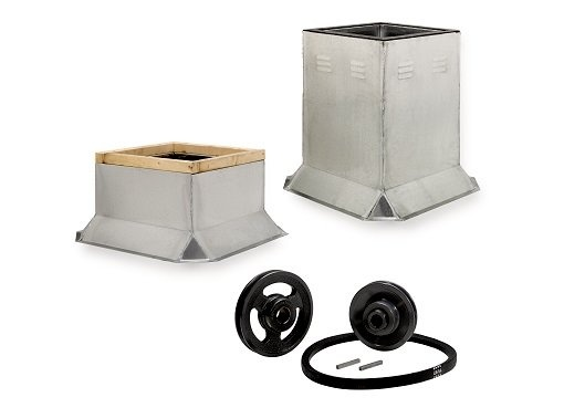 Accessories for roof ventilators
