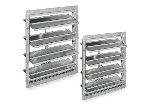 Dampers - Accessories for roof ventilators - Roof ventilators - Commercial ventilation - Products - Fantech
