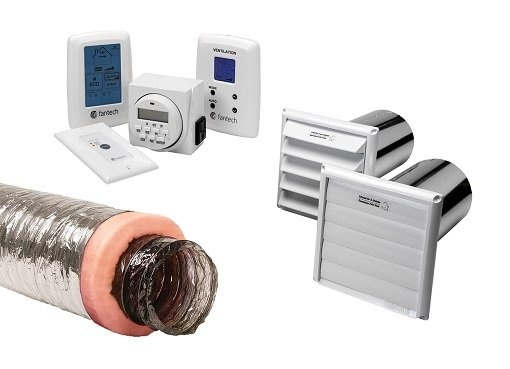 Accessories - Single family homes - Fresh air appliances - Products - Fantech