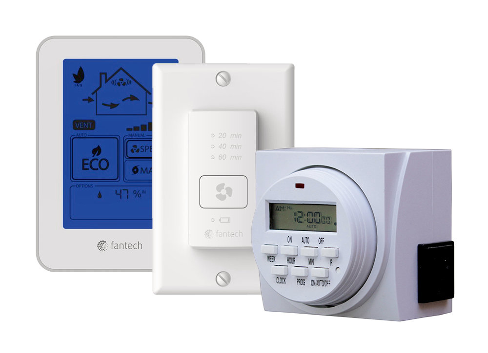 Controls - Accessories - Single family homes - Fresh air appliances - Products - Fantech