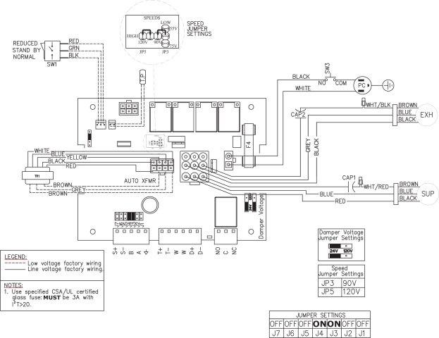Images Wiring - FIT® 120E ERV - Fantech