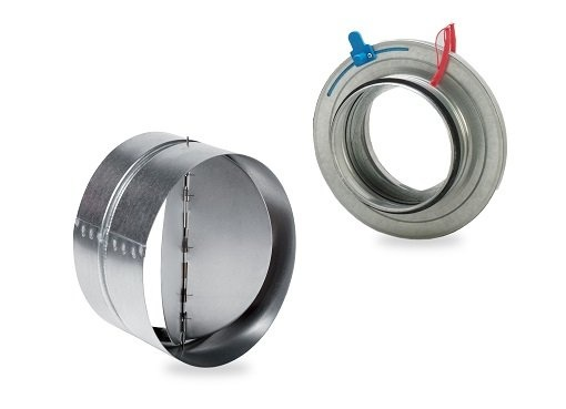 Dampers - Accessories for inline duct fans - Inline duct fans - Fans & accessories - Products - Fantech