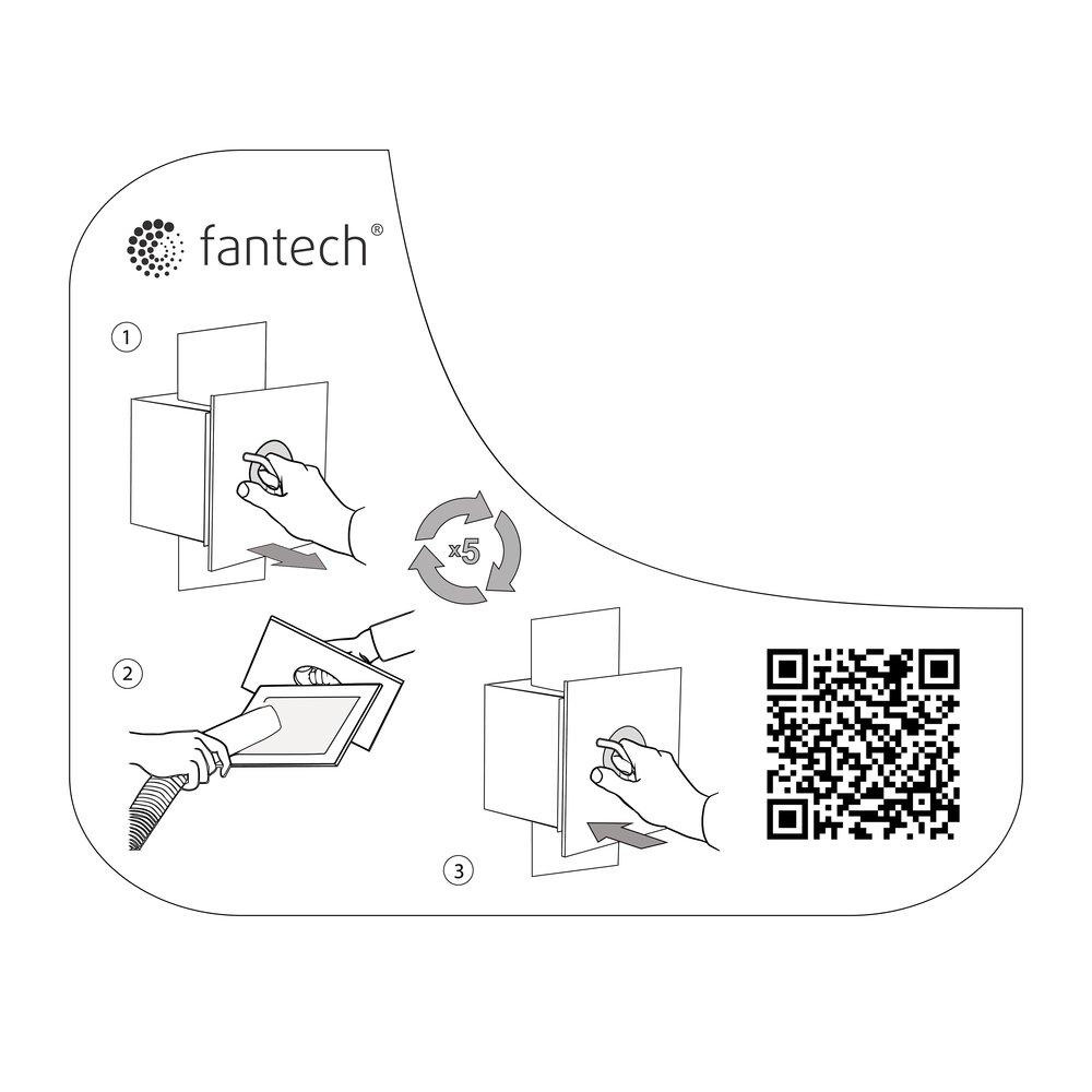 DBLT 4W Secd Lint Trap - Fantech