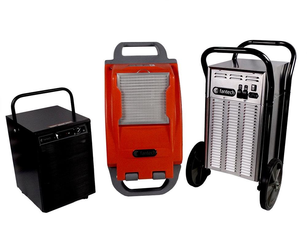 Dehumidifiers - Commercial ventilation - Products - Fantech