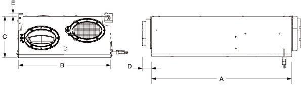 Images Dimensions - FIT® 120E ERV - Fantech