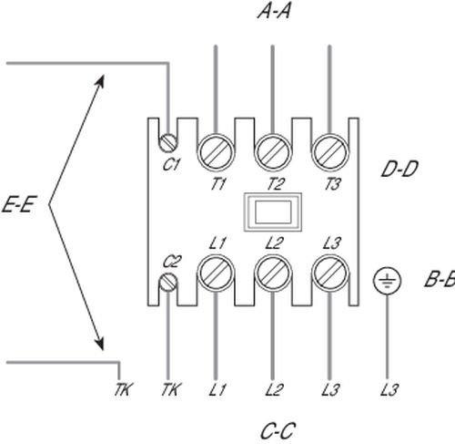 Images Wiring - FKD 16XL 3ph Vent en ligne - Fantech