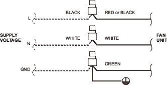 Images Wiring - FQ80 Ventilateur Silencieux - Fantech