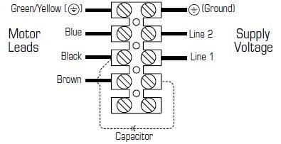 Images Wiring - FRD 16-8XL 230V Rect. Fan - Fantech