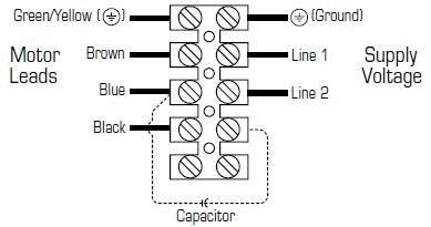 Images Wiring - FRD 24-14 230V Rect Inline Fan - Fantech