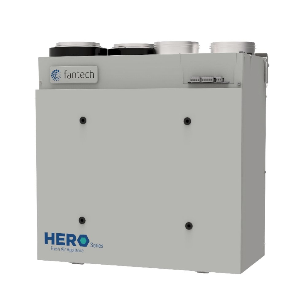 HERO 150H-EC Fr. Air Appliance - With heat recovery - Fantech