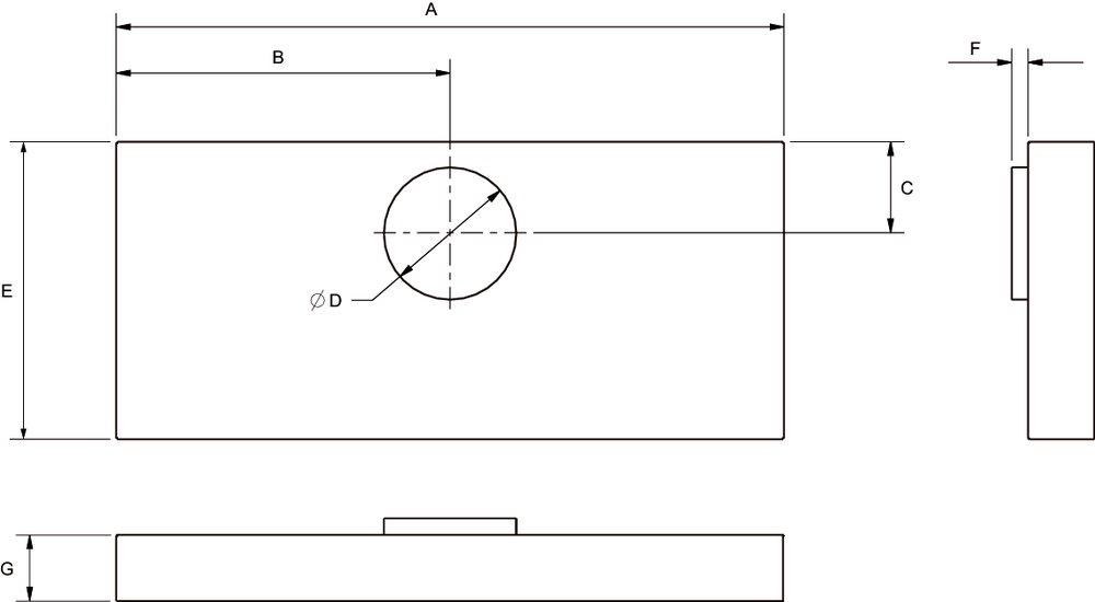 Images Dimensions - HL 48 Kitchen Hood Liner - Fantech