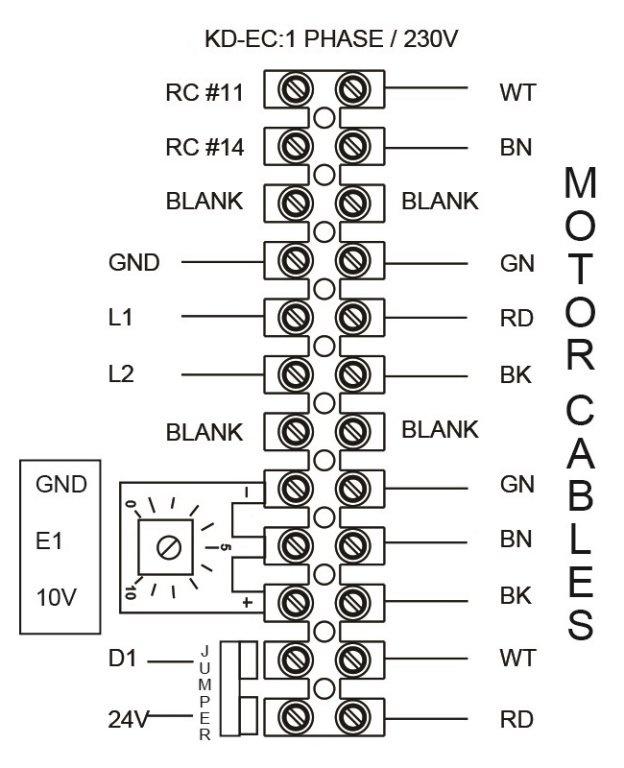 Images Wiring - FKD 16 EC Mixed Flow Fan - Fantech