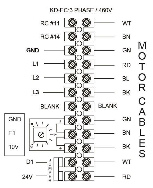 Images Wiring - FKD 16 XL EC Mixed Flow Fan - Fantech