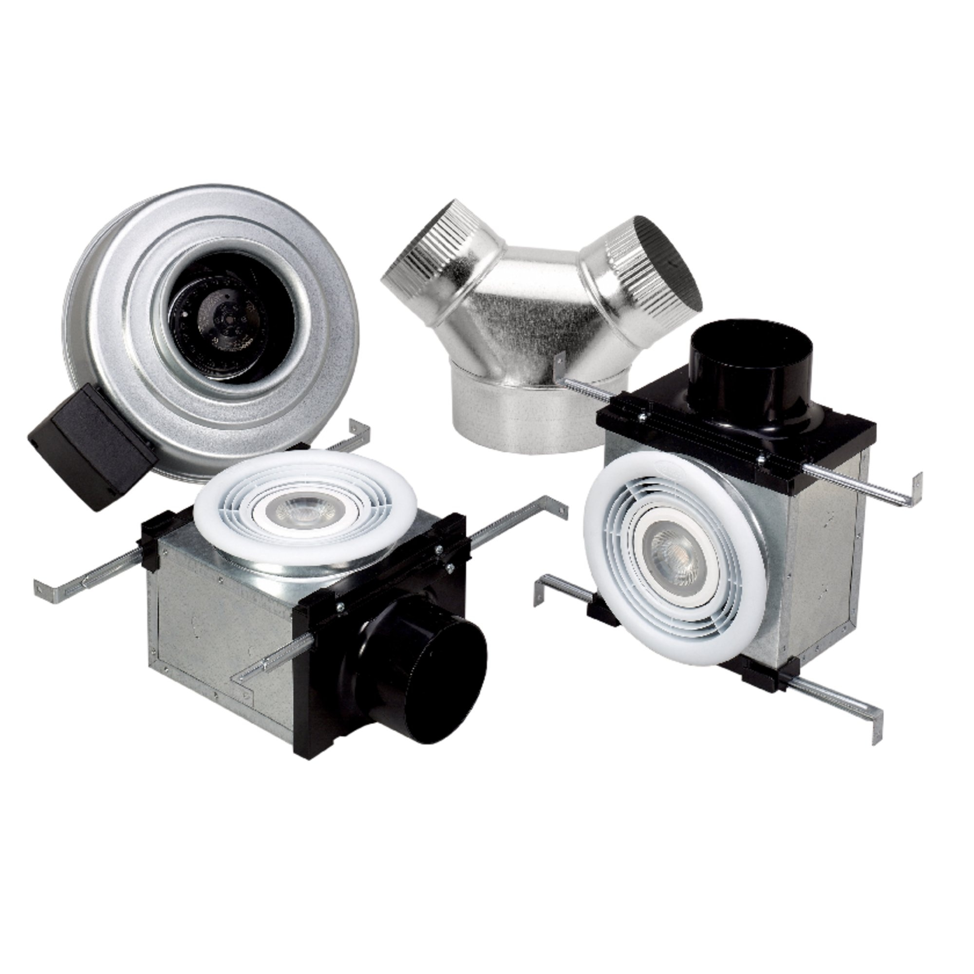 PB270L10-2 Bath Fan w/ 2x LED - Remote mount fans - Fantech