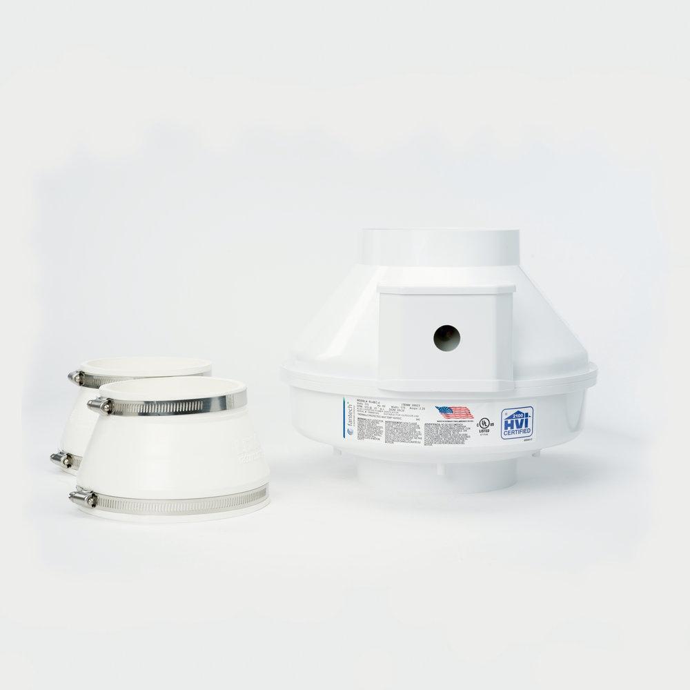 Rn4EC-4 Vent pour Radon - Fantech