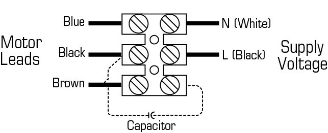 Images Wiring - Rn2 Vent pour Radon - Fantech