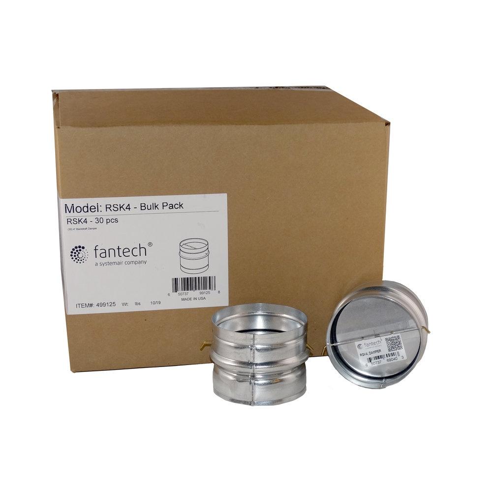 RSK 4 Bulk Pack, 30 pcs/carton - Dampers - Fantech