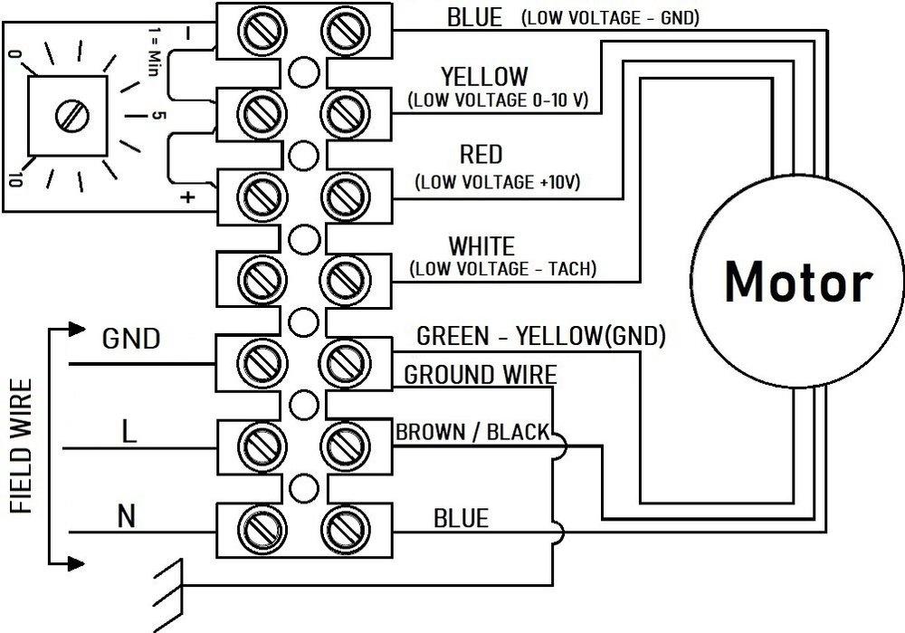 Images Wiring - RVF 10 EC Ext Centrif Fan - Fantech