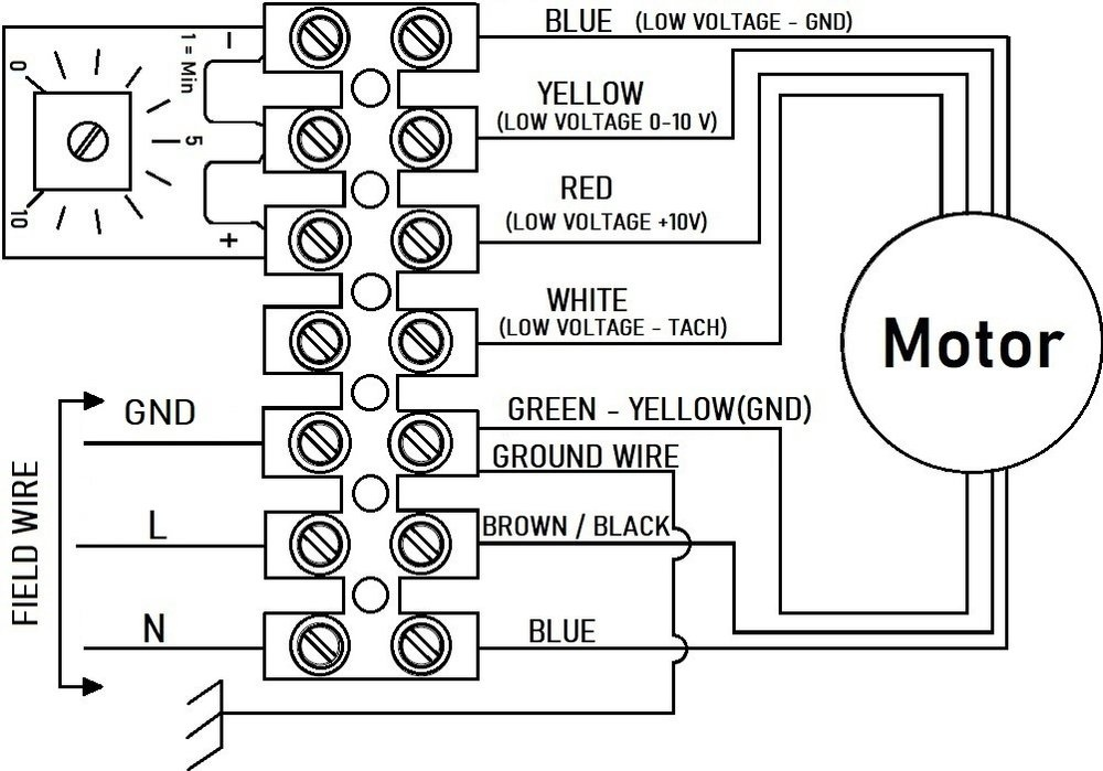 Images Wiring - RVF 10 EC Ext Centrifugal Fan - Fantech