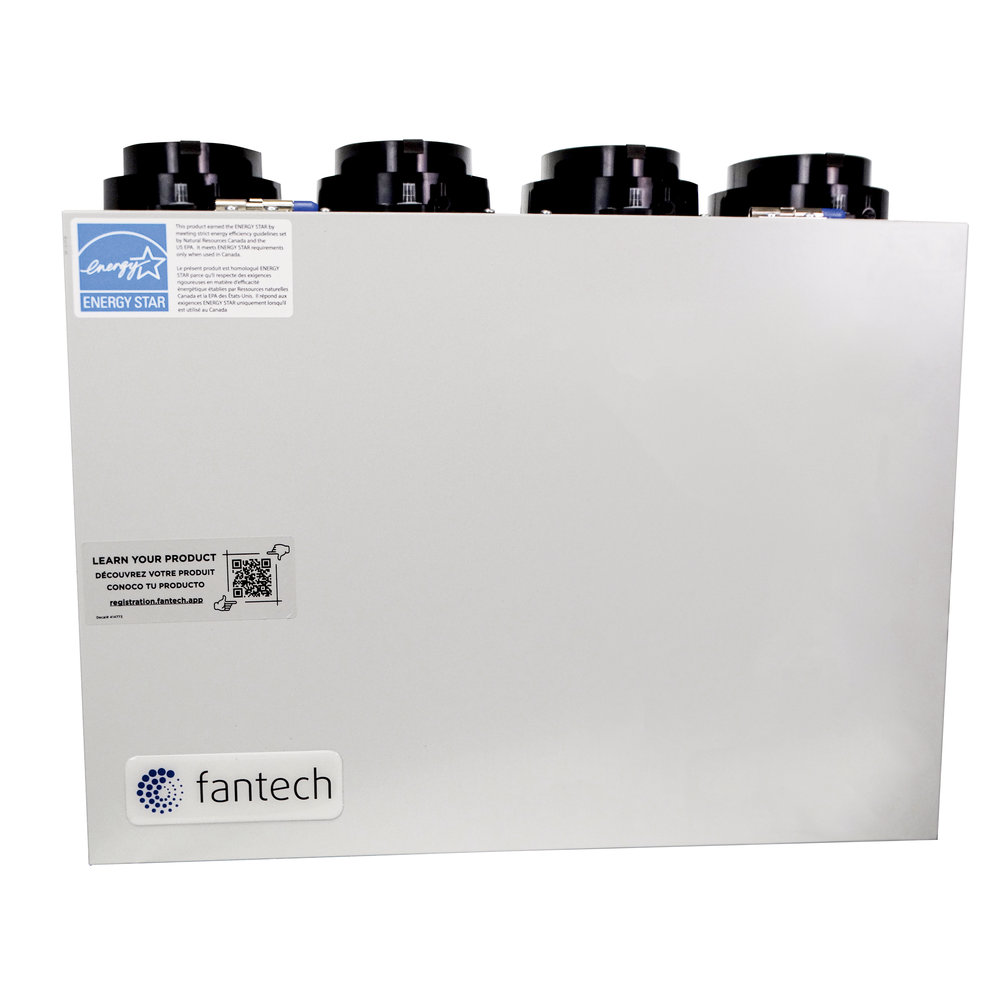 VHR70R ES Fresh Air Appliance - With heat recovery - Fantech