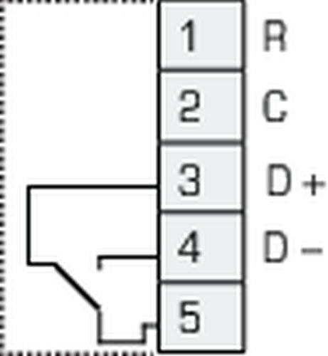 Images Wiring - CO2RT-R Transmitter - Fantech